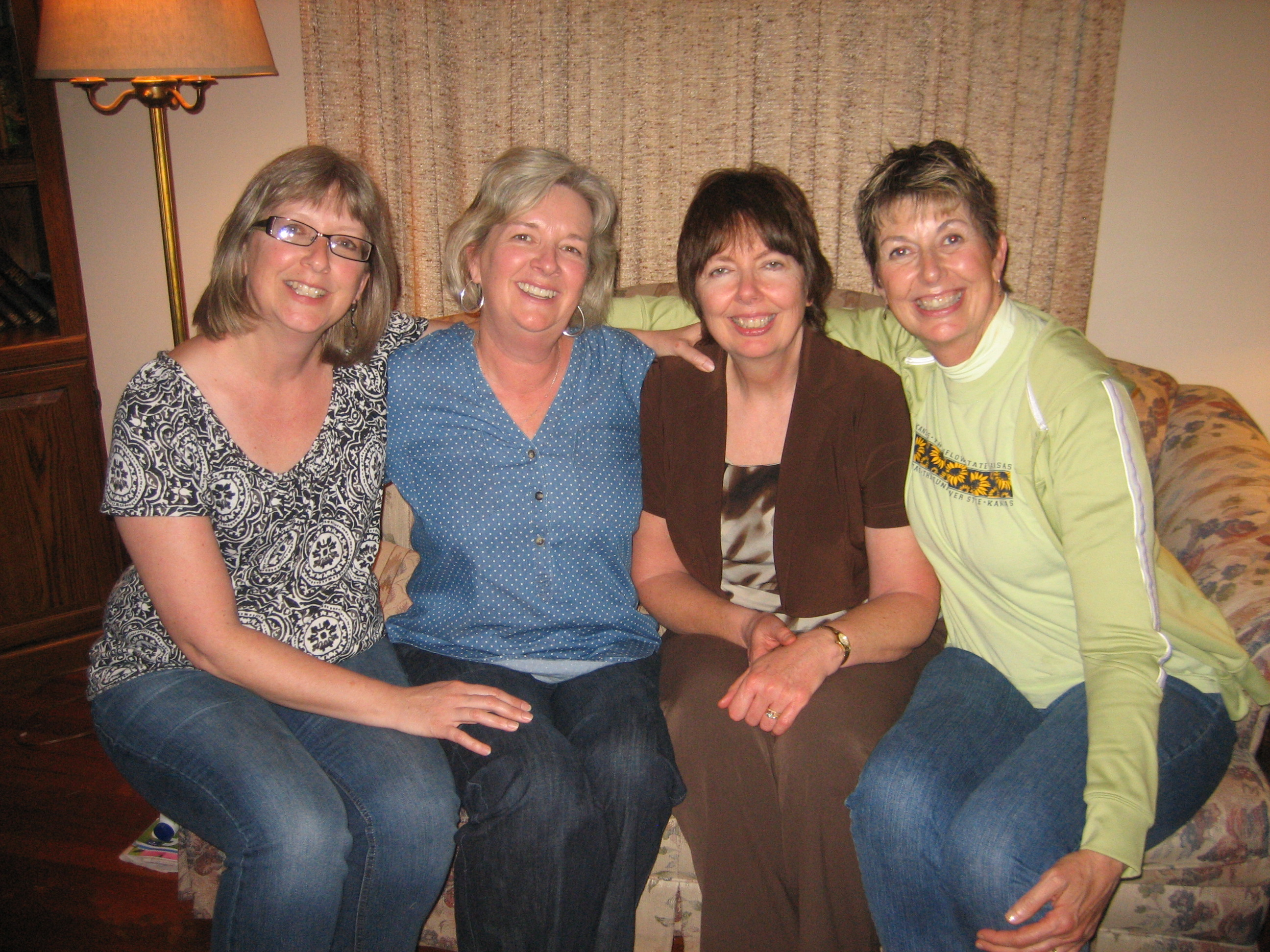 Janet, me, Cheryl, Connie